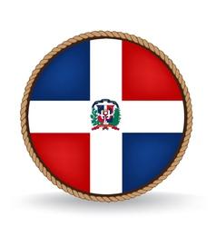 Dominican Republic Seal vector image