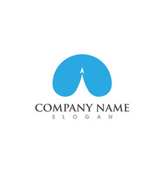 faster logo template vector image