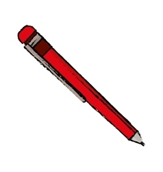 Isolated ballpoint pen vector