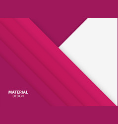 pink color material design background vector image