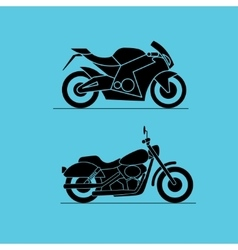 Sport motorbike icon design vector