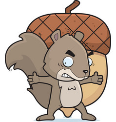 Squirrel nut vector