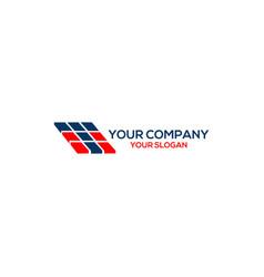 T tiles logo design vector