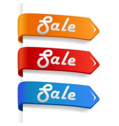 sale arrow vector image