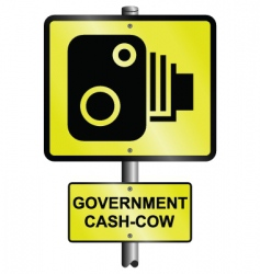 speed camera vector image vector image