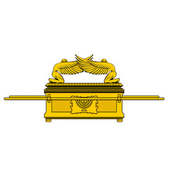 the ark of the covenant vector image