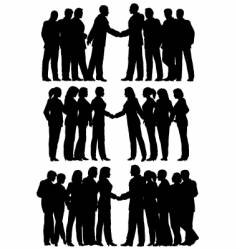 business groups vector image vector image
