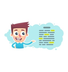 editor vector image vector image