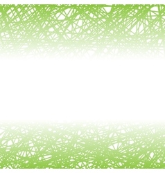 Abstract Green Line Background vector