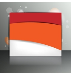 Background with abstract blank for text vector