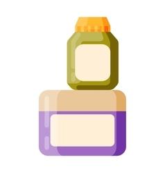 Blank package vector image