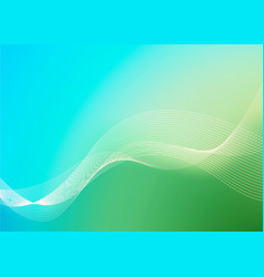 Blue and Green Dynamic background vector