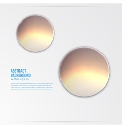circle object design trend and transparent vector image