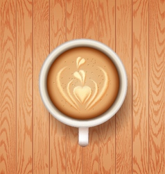 Good morning coffee break Hot Coffee cup vector