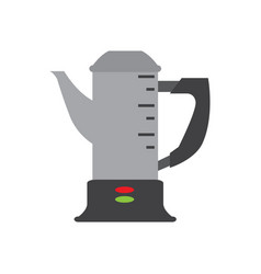isolated coffee pot icon vector image