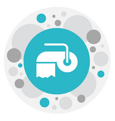 Of cleanup symbol on hygienic vector