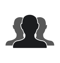 People community network team web pictogram vector