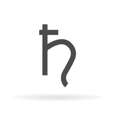 Saturn symbol 1 vector