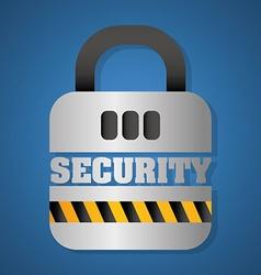Security digital design vector
