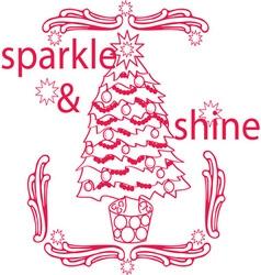 Sparkle Shine vector image