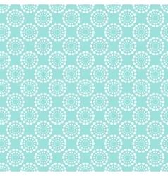Vintage pale blue seamless pattern vector image