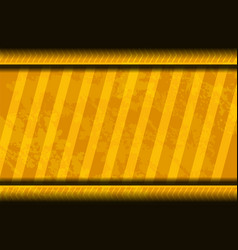 yellow background grunge vector image