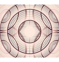 Geometric circles vector image