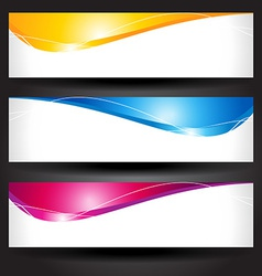 header design vector image