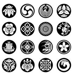 design Southeast Asia vector image