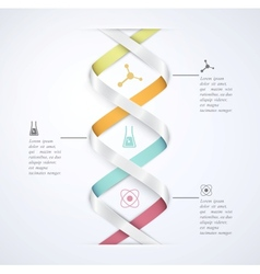 Science infographic vector image vector image