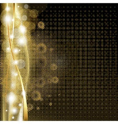 Luxury Background With Stars vector image