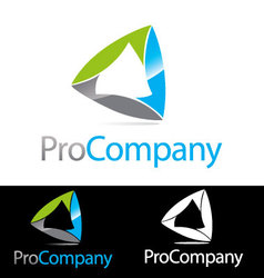 Abstract Corporate Compnay brand icon logo vector