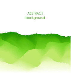 abstract graphic green background vector image