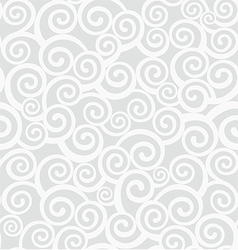 Background with curlicues vector image