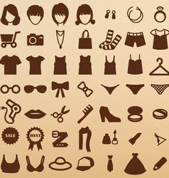 FashionSymbols vector image