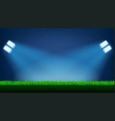 Football field light vector