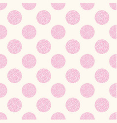 geometric seamless pattern with pink vector image