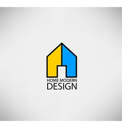 Home logo for concept modern vector