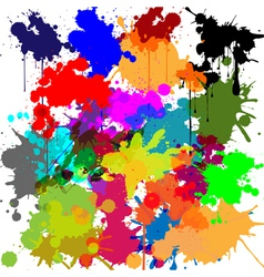 Ink as a background vector