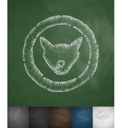pets icon vector image