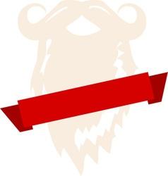 Santa Beard vector image