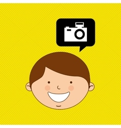 Children and technology design vector image vector image