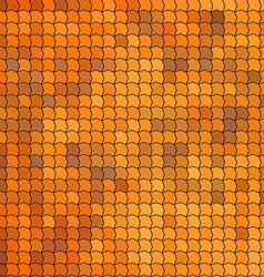 Seamless pattern with orange tiles vector image