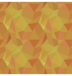 Seamless geometric polygonal pattern background vector