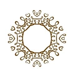 Vintage badge set vector image