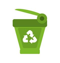 recycle bin icon image vector image vector image