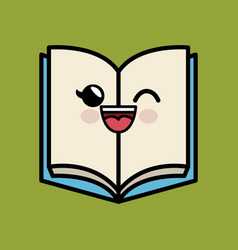 text book character handmade drawing vector image