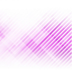 abstract lines and squares shape on purple vector image