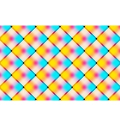 Abstract vibrant background with squares vector