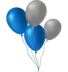 balloons set 3d vector image